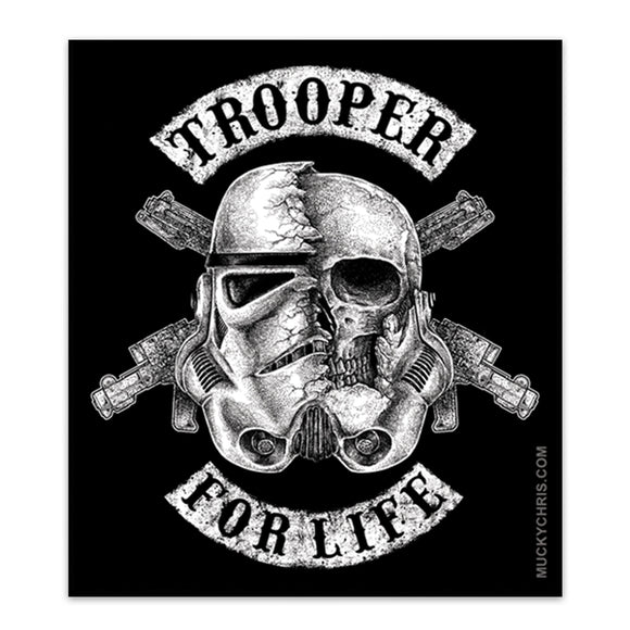 Stormtrooper for Life | Star Wars | Sticker