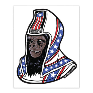 Planet of the Apes | General Ursus | Dirty Apes | Sticker