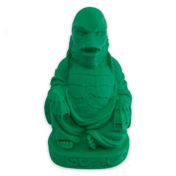 Creature from the Black Lagoon Buddha | Universal Monsters | Green