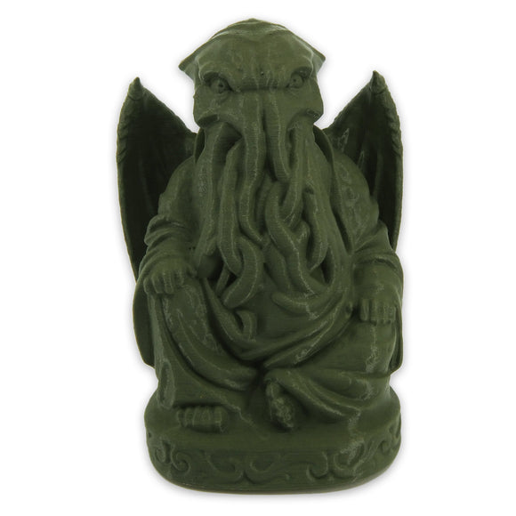 Cthulhu Buddha | H. P. Lovecraft | Olive Green