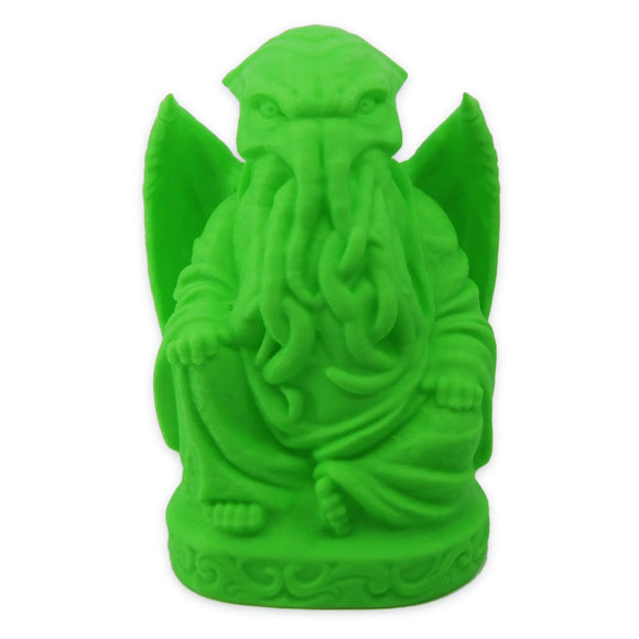 Cthulhu Buddha | H. P. Lovecraft | Glow in the Dark Green