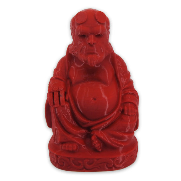 Hellboy Buddha | Crimson Red