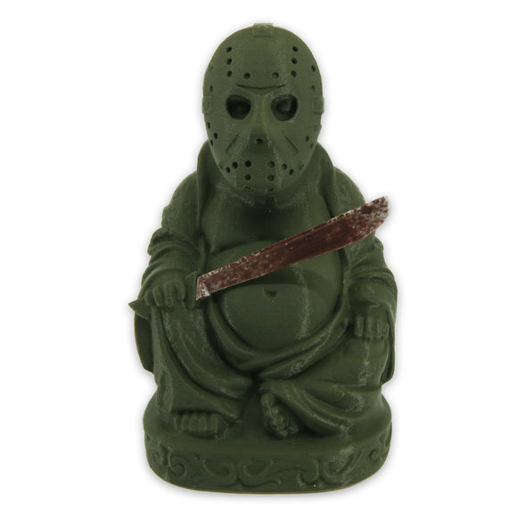 Jason Voorhees Buddha | Friday the 13th | Olive Green
