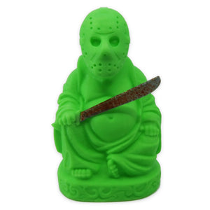 Jason Voorhees Buddha | Friday the 13th | Glow in the Dark Green