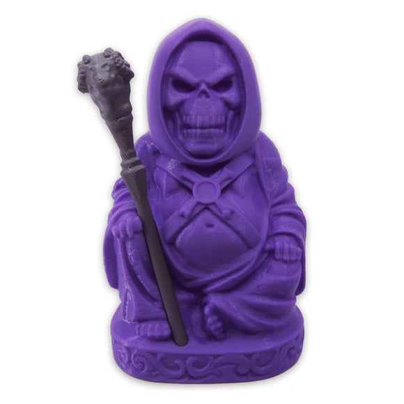 Skeletor Buddha | Masters of the Universe | Purple