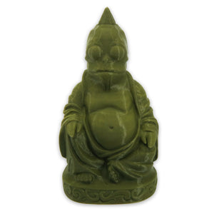 Sleestak Buddha | Land of the Lost | Novelty Gift | Urban Art | Olive Green