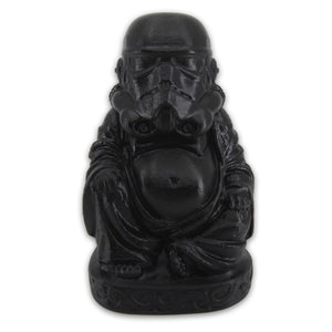 Stormtrooper Buddha | Star Wars | Satin Black