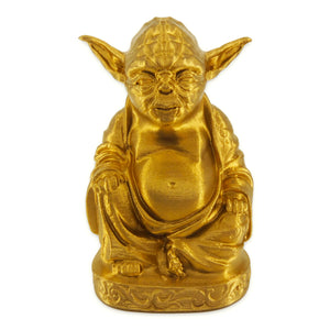 Yoda Buddha | Star Wars | Brilliant Gold