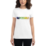 Women's Fashion Fit Short Sleeve T-Shirt Possible Design - SmartBuys