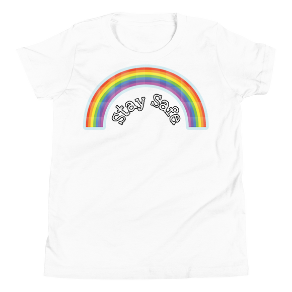 Kids Short Sleeve T-Shirt Rainbow Design - SmartBuys