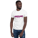 Unisex Short-Sleeve Softstyle T-Shirt Awesome Dad Design - SmartBuys