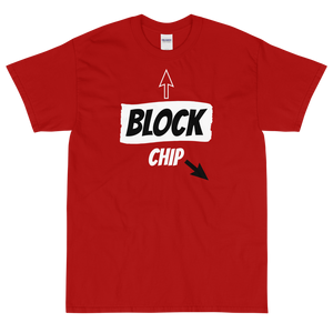 Men's Classic T-Shirt Chip-Off-Block Design - SmartBuys