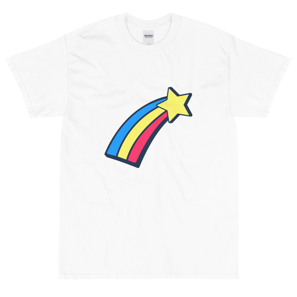 Men's Classic T-Shirt Shooting Star Design - SmartBuys
