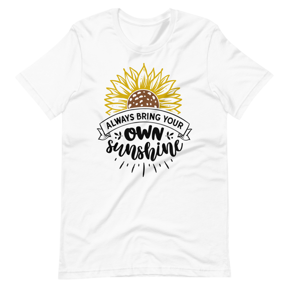 Unisex Short-Sleeve T-Shirt Own Sunshine Design - SmartBuys