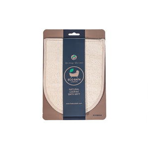 Natural Loofah Bath Mitt - Eco Bath London