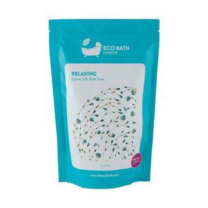 Relaxing Epsom Salt Bath Soak - Pouch - Eco Bath London