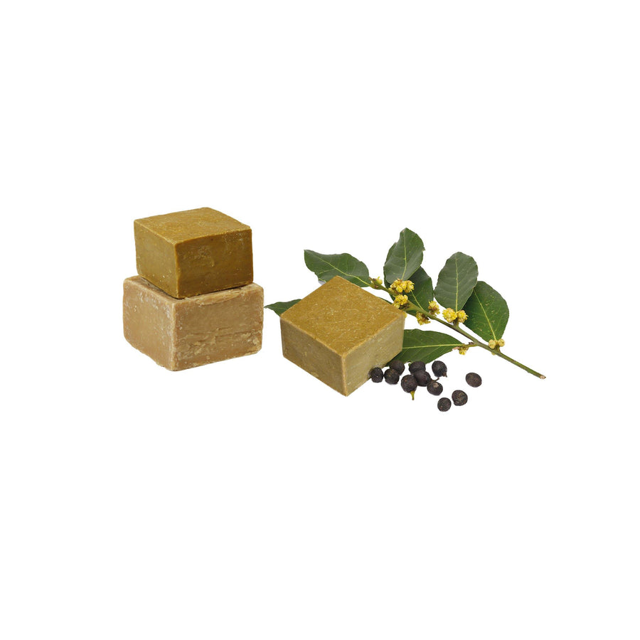 Hand Made Bay & Olive Soap (+/- 200gr) - Eco Bath London