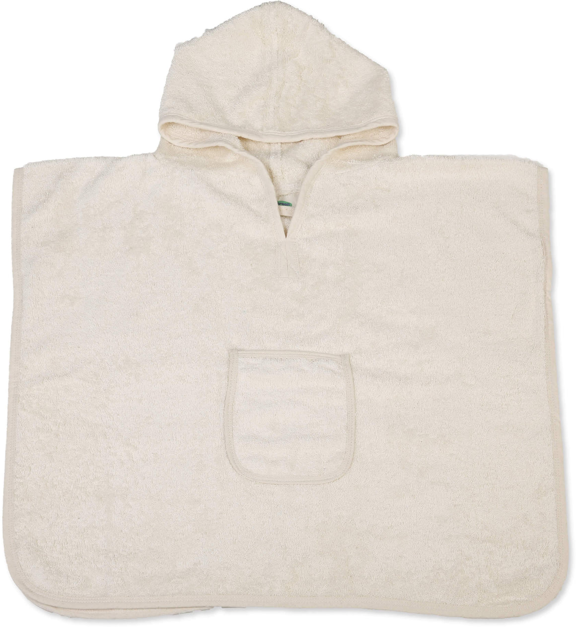 Organic Cotton Baby Poncho - Eco Bath London