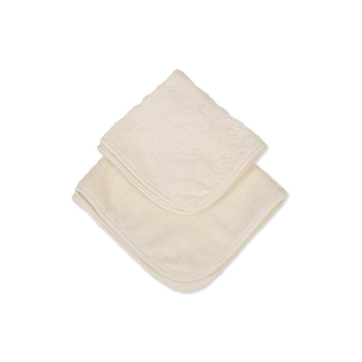 Organic Cotton Baby Terry Squares (6 in pack) - Eco Bath London