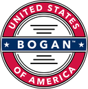 Official American Bogan(tm) Logo red white blue copyright trademark adrian feliciano alphajulietfoxtrot.com