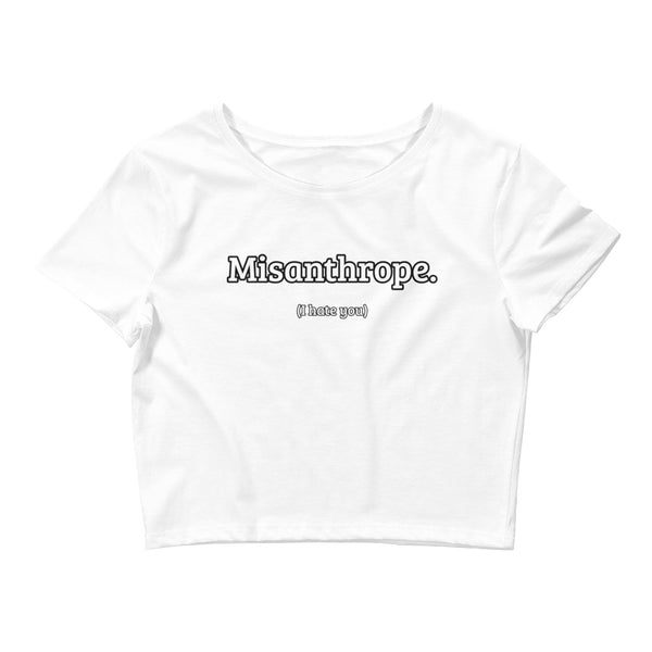 Misanthrope Small Framed Women's Crop Tee