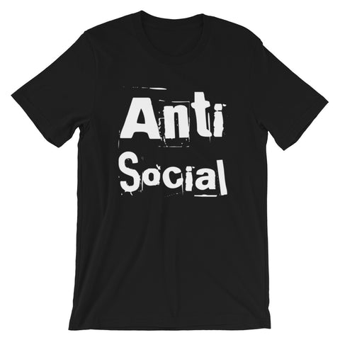 Antisocial Short-Sleeve Unisex T-Shirt