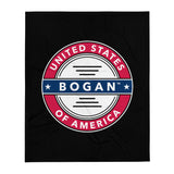 American Bogan Throw Blanket