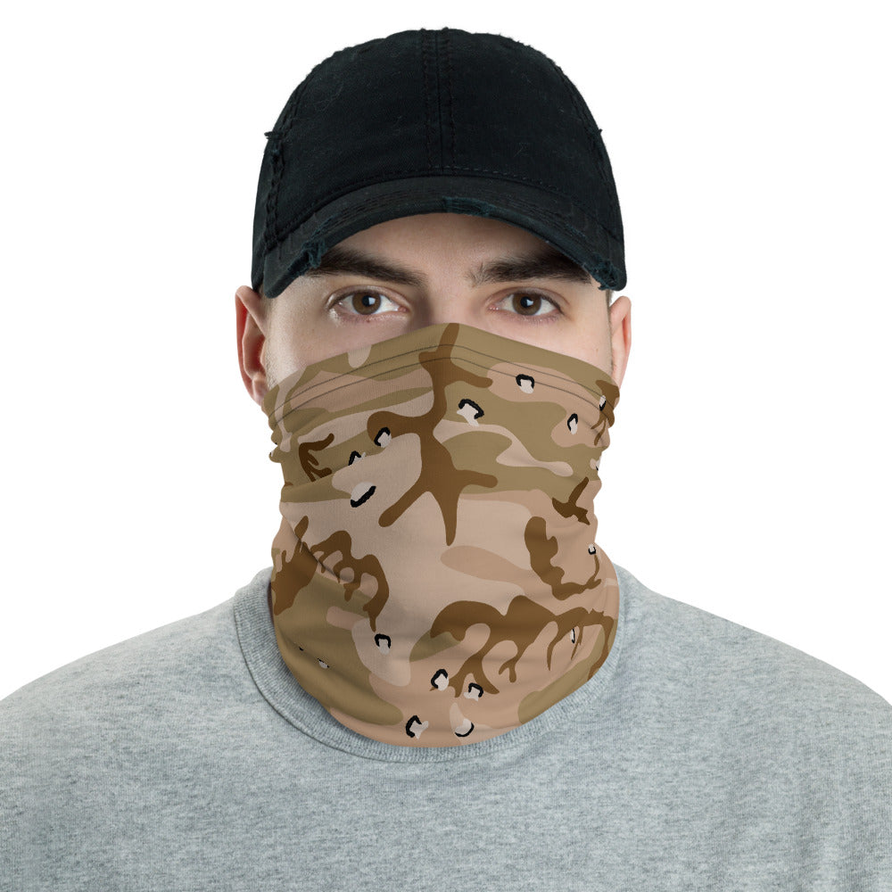 Desert Camouflage Pattern All Over Print Neck Gaiter