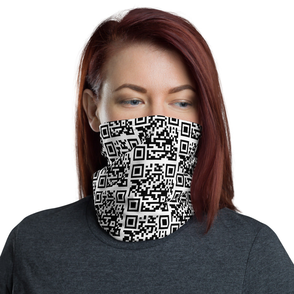 Americanbogan.com QR Code All Over Print Neck Gaiter