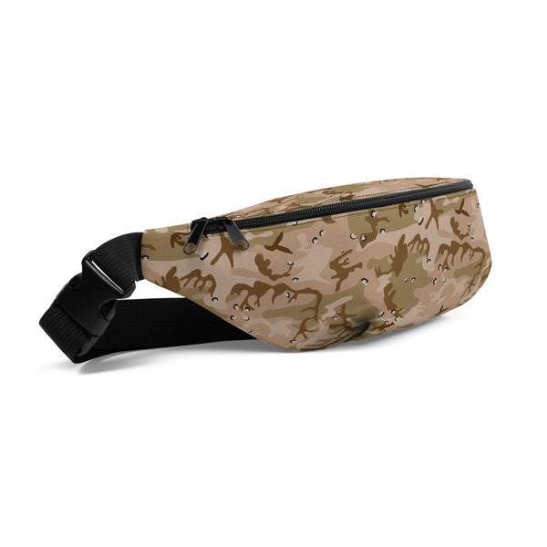 Desert Camouflage Pattern Fanny Pack