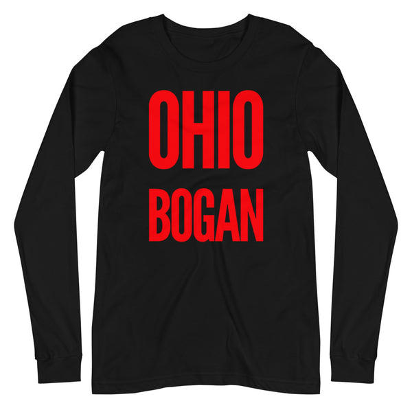 Ohio Bogan Unisex Long Sleeve Tee