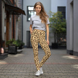Leopard Print Camouflage Pattern Yoga Leggings