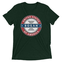 American Bogan Short Sleeve Tri-Blend Unisex T-shirt