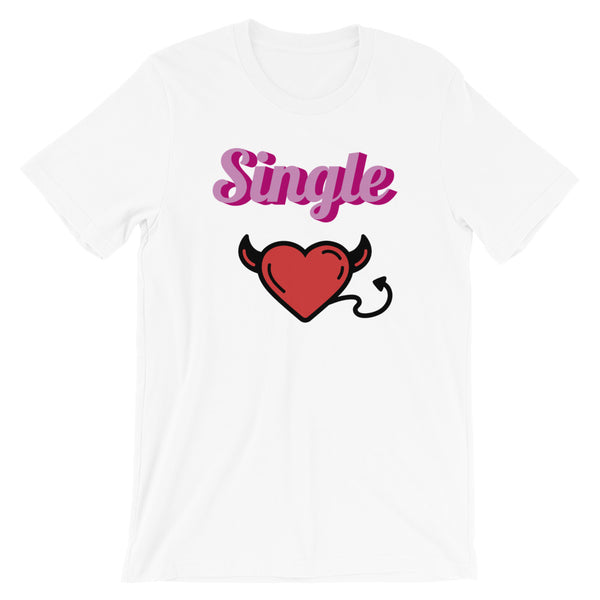 Single Devil Short-Sleeve Unisex T-Shirt