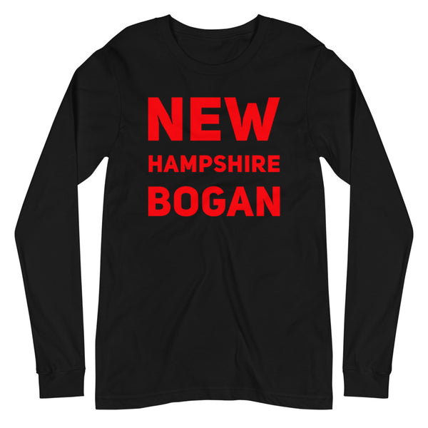 New Hampshire Bogan Unisex Long Sleeve Tee