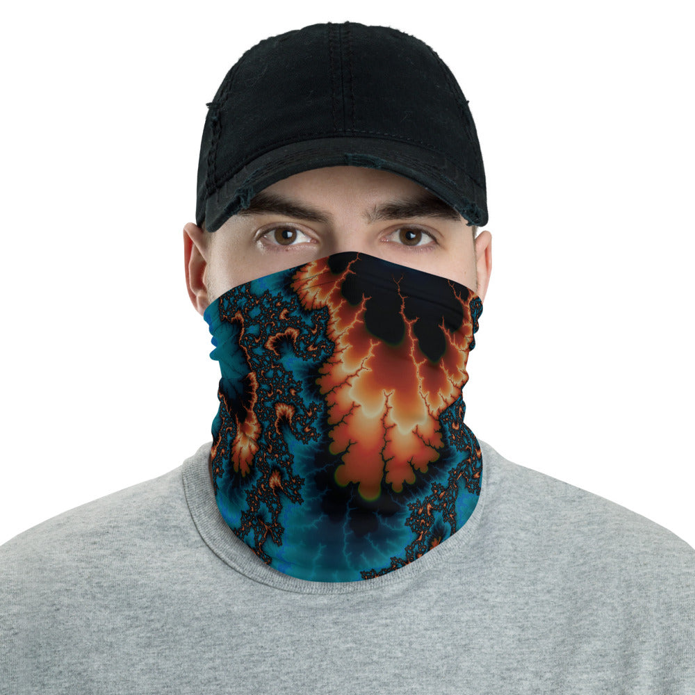 Quantum Fluctuation Fractal Art All Over Print Neck Gaiter