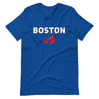 I Love Boston Short-Sleeve Unisex T-Shirt