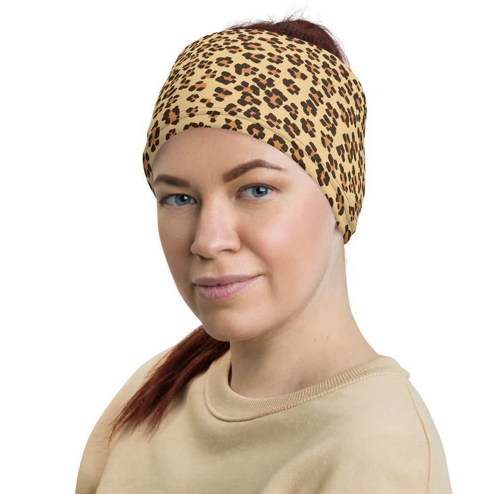 Leopard Print Camouflage Pattern All Over Print Neck Gaiter