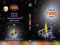 How To Twirl Baton Kit: Star Line Starlet Baton and Beginning DVD