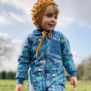 Adventure Print Little Adventure Suit