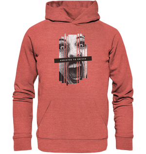 Addicted to knives - Organic Hoodie