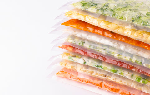 Modified Atmosphere Packaging with fresh produce