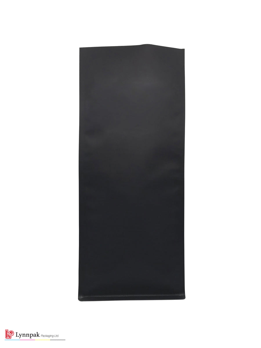 2 lb Block Bottom Bag - Matte Black