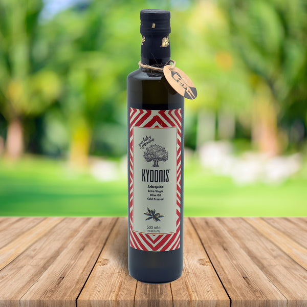 Arbequina Extra Virgin Olive Oil | kydonisnew