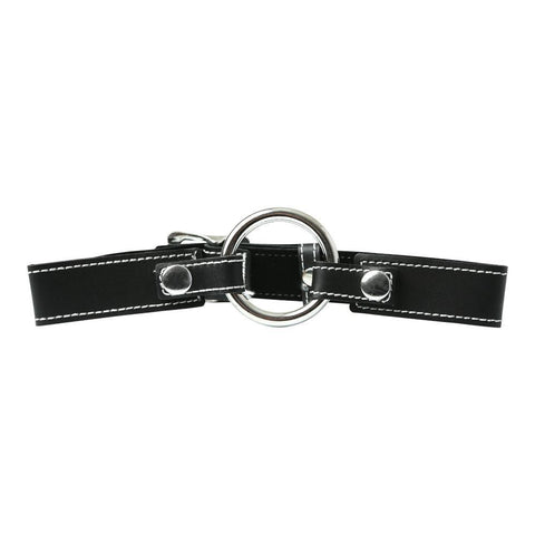 Sportsheets Edge Leather Seamless O-Ring Gag