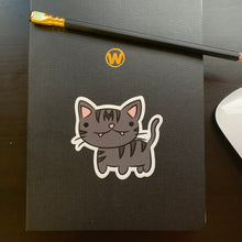 Load image into Gallery viewer, Momo Munchkin Cat Vinyl Sticker