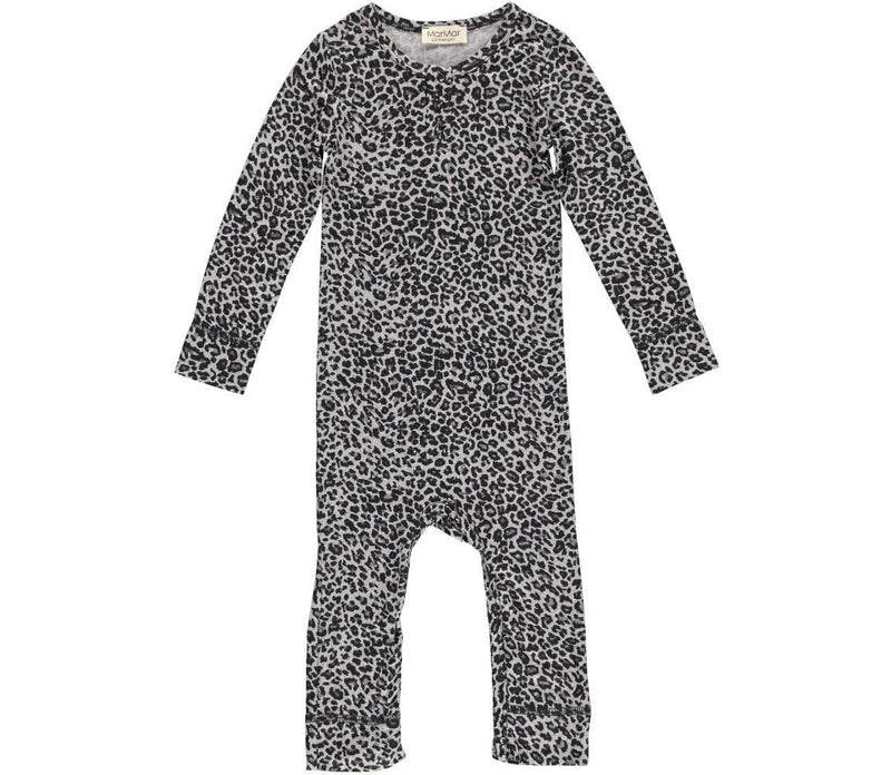 Mar Mar Copenhagen Grey Leopard Print All in One