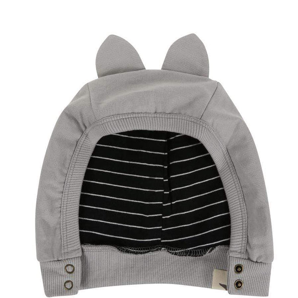 Turtledove London Grey Animal Hat