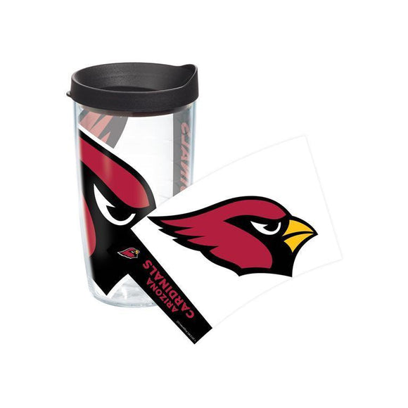 Arizona Cardinals Colossal 16 oz. Tervis Tumbler with Lid - (Set of 2)-Tumbler-Tervis-Top Notch Gift Shop