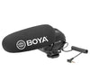 BOYA BY-BM3031 On-Camera Shotgun Microphone PAD Switch: -10dB,0,+20dB for DSLR Cameras,Video Cameras,Audio Recorders